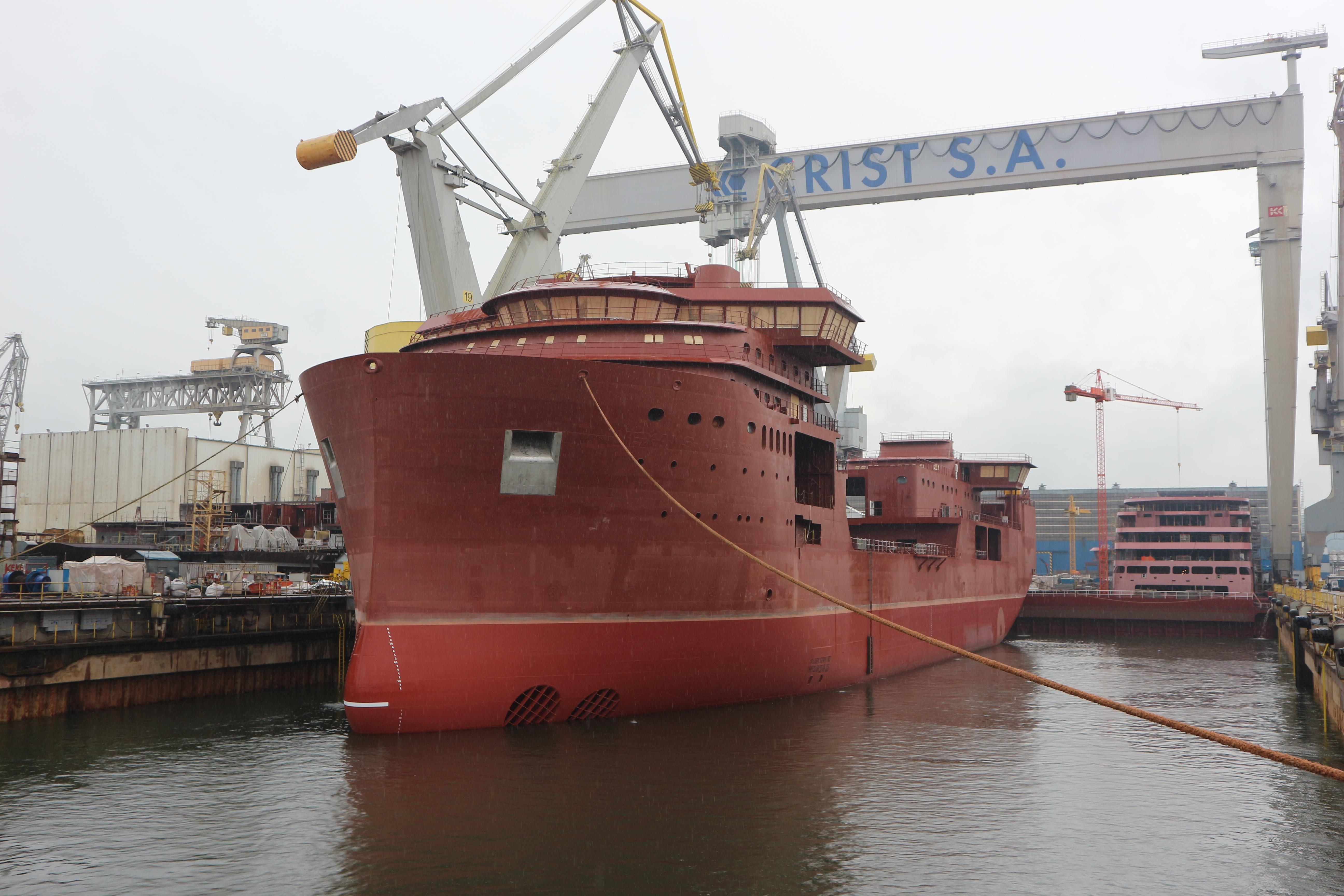 Kablowiec Nexans Aurora opuszcił CRIST